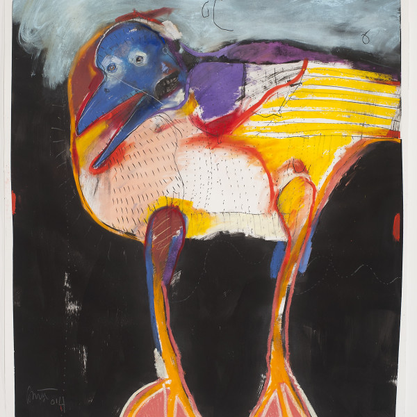 """Rick Bartow """"Crow's Instructions"""" Exhibition Conversation Broadcast: 11am Pacific."""