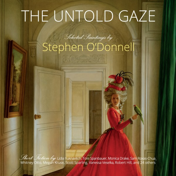 'The Untold Gaze' - a book launch event, Paintings by Stephen O'Donnell paired with stories by 33 authors