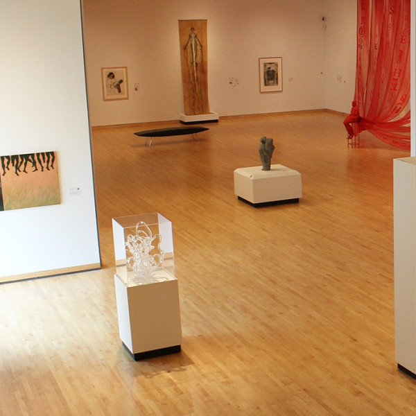 "Kay WalkingStick featured in the exhibition ""The F Word: We Mean Female!"" at the Hunter Museum in TN"