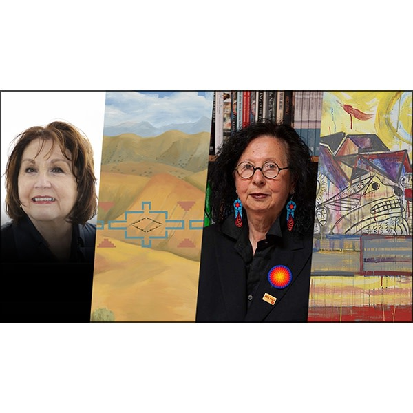 Kay WalkingStick and Jaune Quick-to-See Smith in Conversation