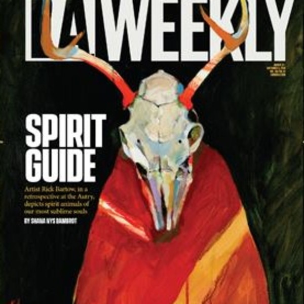 Rick Bartow in LA Weekly
