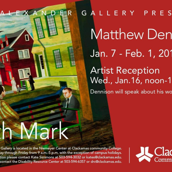 """Matthew Dennison, """"Birth Mark"""" Career Survey"""