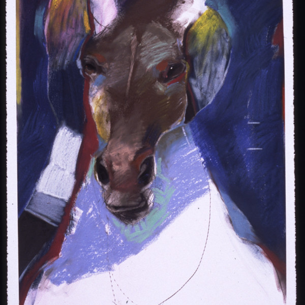 """""""Comings & Goings: Works on Paper by Rick Bartow"""" at the C.N. Gorman Museum"""