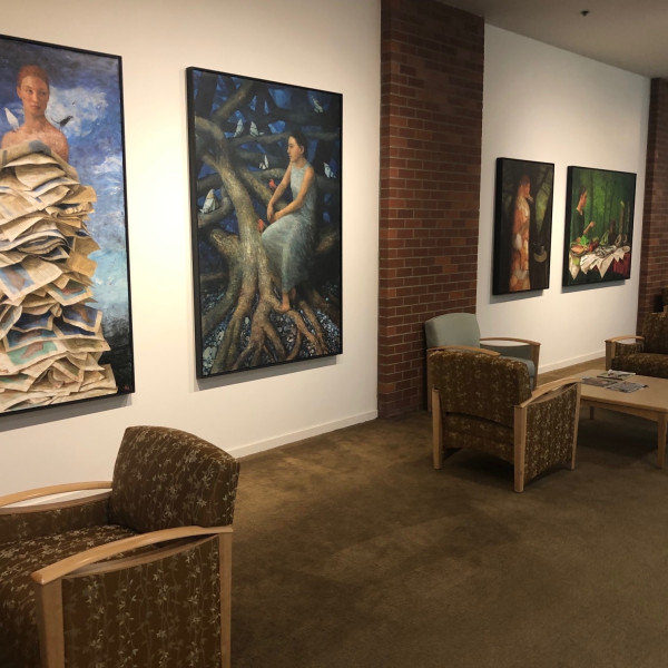 Katherine Ace Paintings at Legacy Cancer Institute