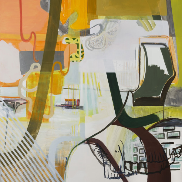 """""""Laurie Danial's Dynamic and Enigmatic Abstraction"""""""
