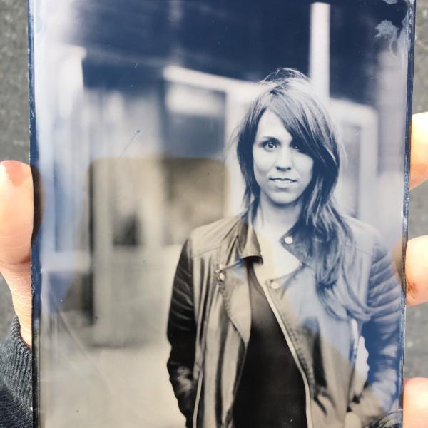 self-portrait, tintype