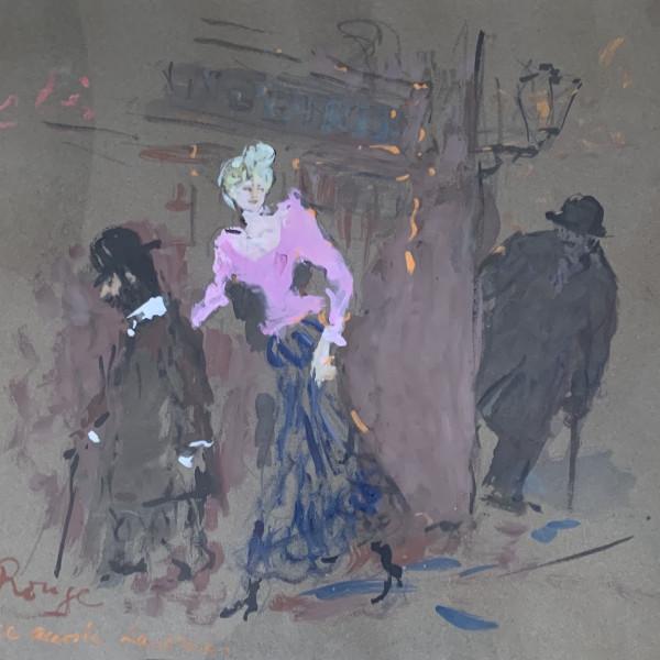 Marcel Vertès, Moulin Rouge/Marie accoste Lautrec