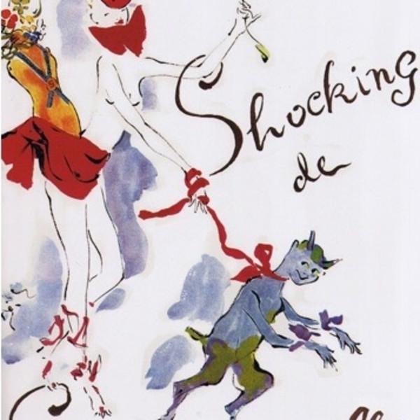"Marcel Vertes's advertisement for Elsa Schiaparelli's perfume called ""Shocking"""