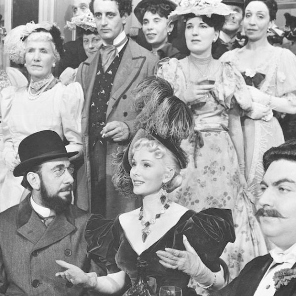 Scene from Moulin Rouge starring Jose Ferrer as Toulouse Lautrec