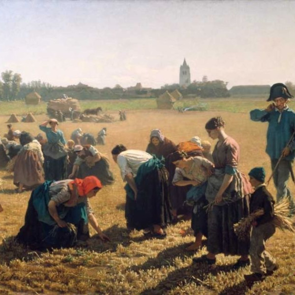 Jules Breton, The Gleaners, 1855. National Gallery of Ireland.