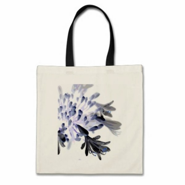 Illuminated flower tote bag, Limited edition of 250