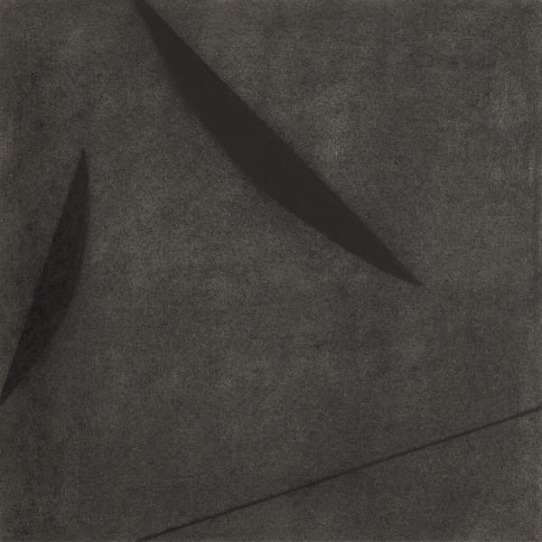 detail of Kay WalkingStick Black on Black 77S, 1977