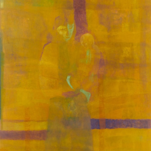 Mother and Child (Yellow), 2021 (detail)