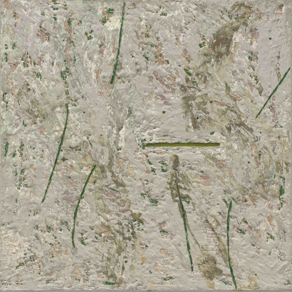 Detail of Kay WalkingStick, Death of the Elm, 1984