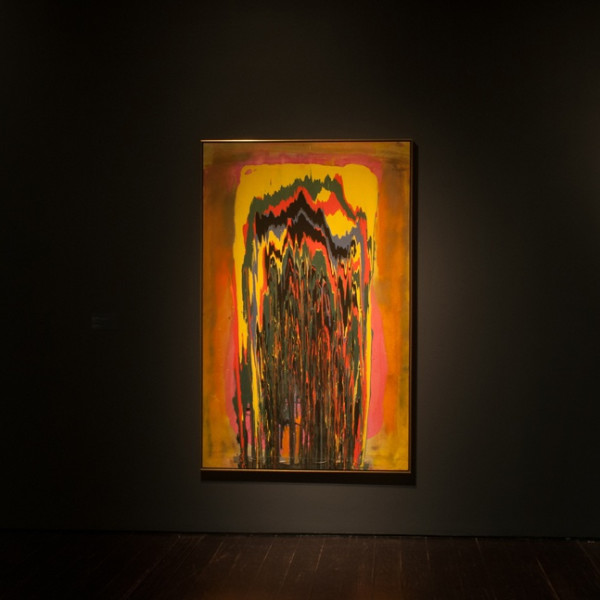 "Frank Bowling in ""Affecting Presence and the Pursuit of Delicious Experiences"" at the Menil Collection"