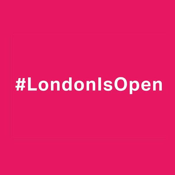 #London Is Open logo