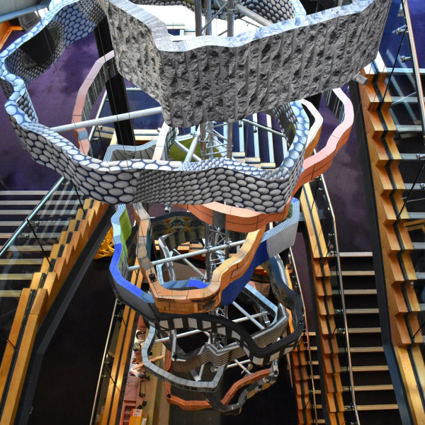Rachael Champion | Tower of Varieties | Hippodrome 120 Sculpture Commission, Birmingham UK