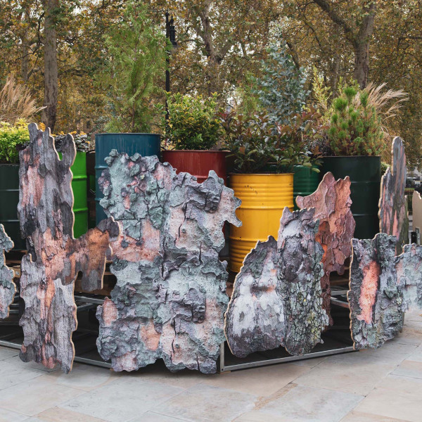 Rachael Champion | Temporary Retention Site for Atmospheric Particles | Berkeley Square, London