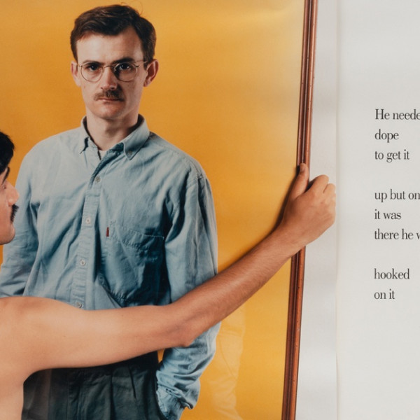 Detail of Sunil Gupta, Untitled #5 from the series 'Pretended' Family Relationships, 1988
