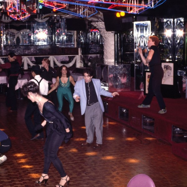 Michael Smith, USA Freestyle Disco Championship (detail), 1979/2003, slide installation