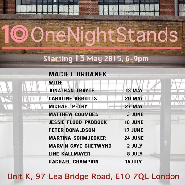 Rachael Champion in 10 One Night Stands with Maciej Urbanek