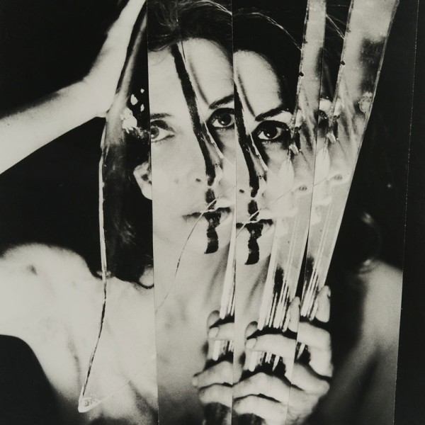 Carolee Schneemann, Eye Body #11, 1963. Image courtesy the Schneemann studio.