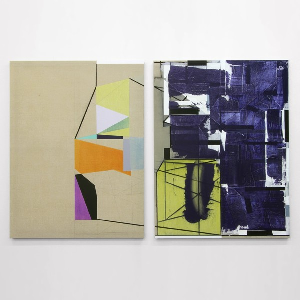 Andrew Bick, 'Variant t s (shifted double echo)', 2012-14. Image courtesy of the Artist and Hales London New York. Copyright of the artist.