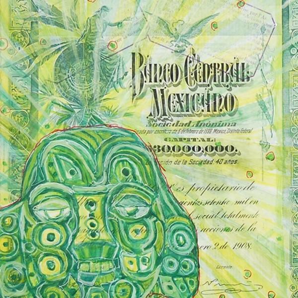 Hew Locke, Banco Central Mexicano, 2009 (detail)