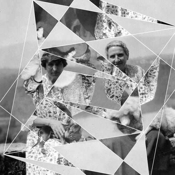 Andrea Geyer, Constellations (Alice B. Toklas and Gertrude Stein), 2017