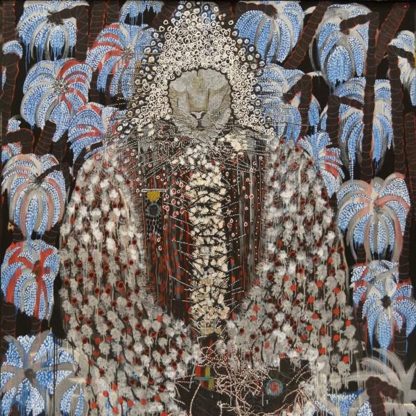 Omar Ba, Afrique, Pillage, Arbres, Richesses, 2014, (detail)
