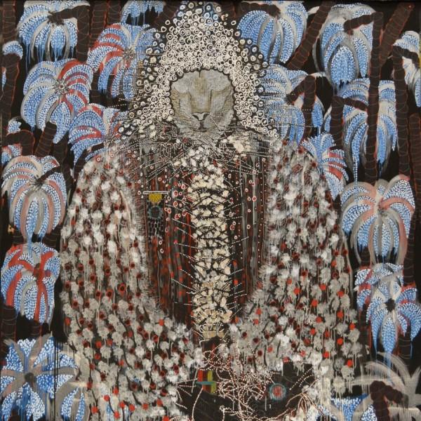 Omar Ba, Africa, Looting, Trees, Wealth, 2014 (detail)