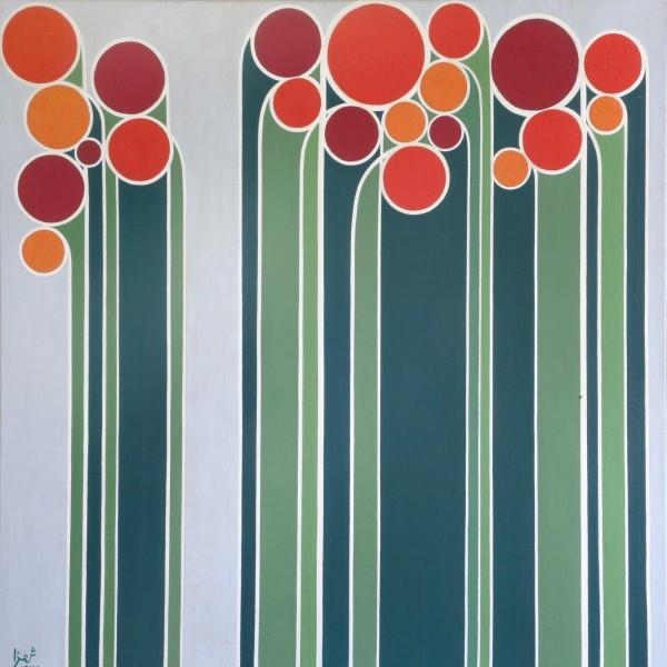 Anwar Jalal Shemza: Various Works (1961–1969) | Making New Time | Sharjah Biennial 14