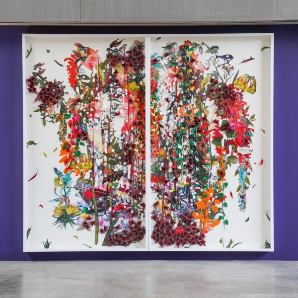 Ebony G. Patterson | ...when the cuts erupt...the garden rings...and the warning is a wailing... | Contemporary Art Museum St. Louis