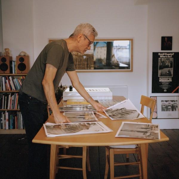 Sunil Gupta in his London studio. Photo by James Proctor.