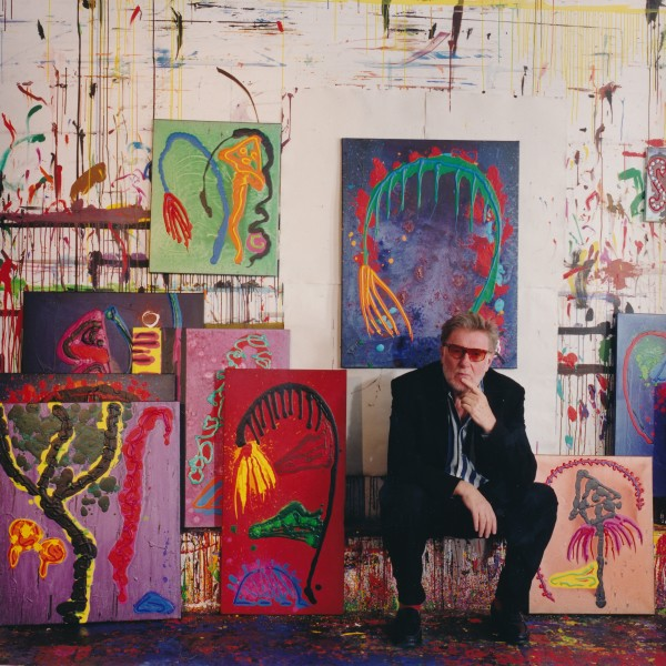 John Hoyland © Hugh Gilbert 1998
