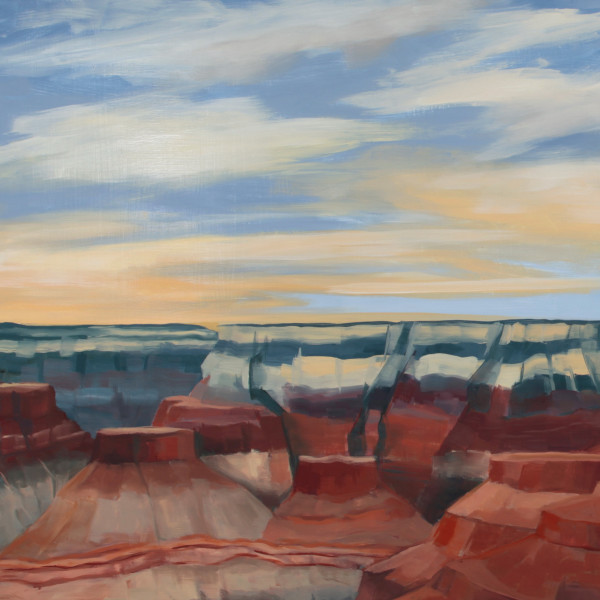 Detail of The Canyon, 2016