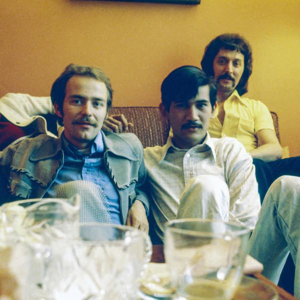 Sunil Gupta, Shalini, Rudi, Sunil, Léo, 3425 Stanley, c. 1974/2021
