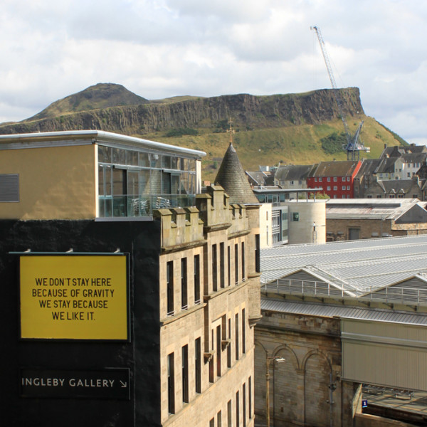 Billboard for Edinburgh: Charles Avery