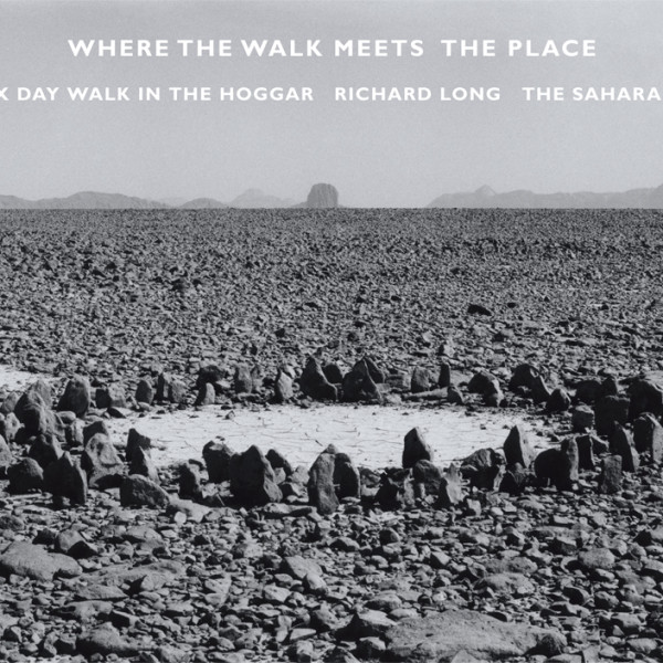 Billboard for Edinburgh: Richard Long