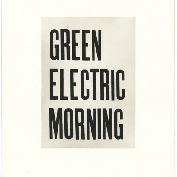 GREEN ELECTRIC MORNING
