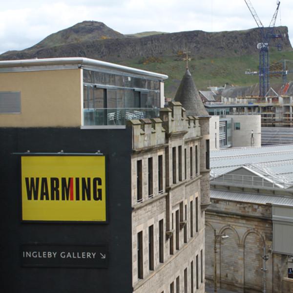 Billboard for Edinburgh: Kay Rosen
