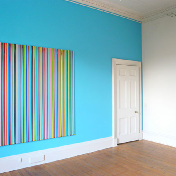 Ian Davenport & The Simpsons