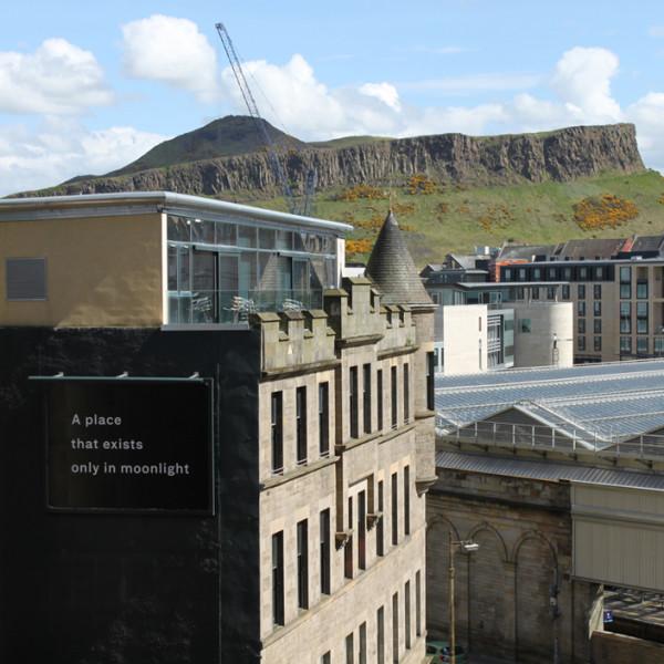 Billboard for Edinburgh: Katie Paterson