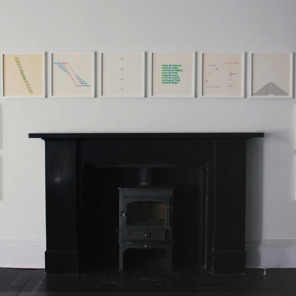 Exhibition - Ian Hamilton Finlay: Early Works (1958 - 1970)