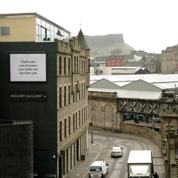 Adam McEwen - Billboard for Edinburgh