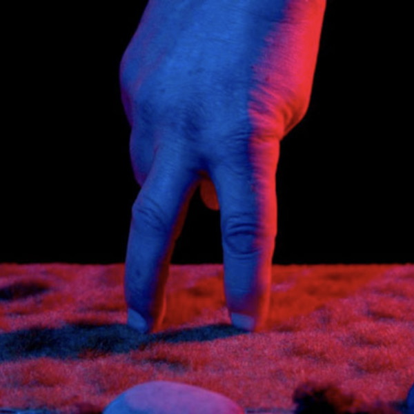 (detail) Ronnie van Hout, 'Handwalk', 2015 (video still), single-channel digital video, colour, sound