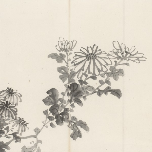 Paintings Ink paintings from the edo- and meiji-period