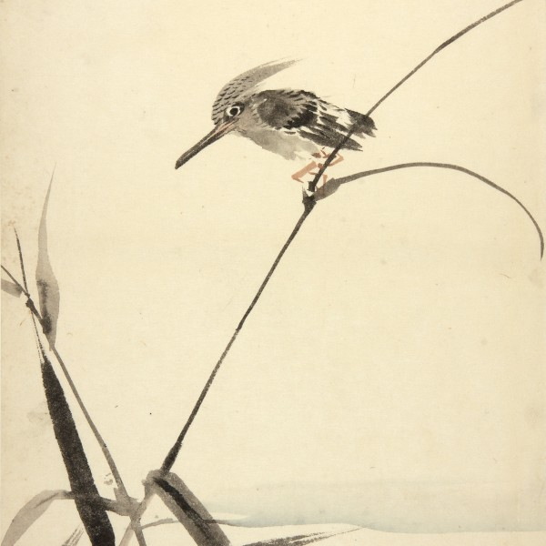 Japanese Ink Paintings Depictions of nature