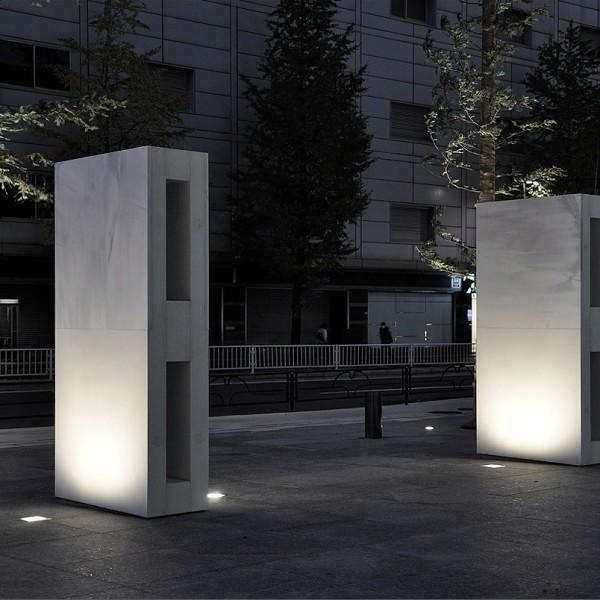 Sculpture in public space: Katsuhito Nishikawa. Spiritual Wall with Certain Surface