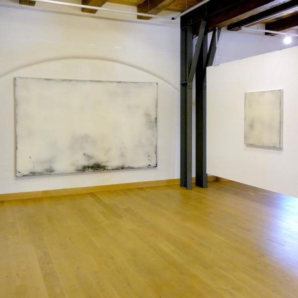 Ausstellungsansichten: Die Farbe Weiss. Gruppenausstellung mit Hideaki Yamanobe